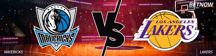 Dallas Mavericks vs. Los Angeles Lakers NBA Betting Odds