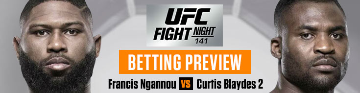 UFC Fight Night 141 Betting