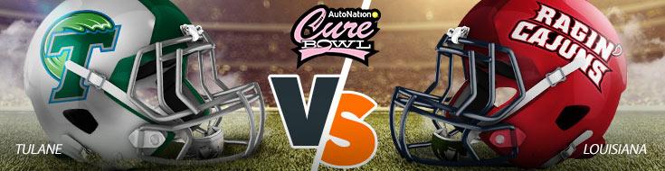 Tulane Green Wave vs. Louisiana Ragin' Cajuns Betting Picks