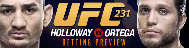 UFC 231 Betting PReview