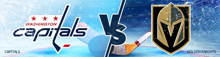 Washington Capitals vs. Vegas Golden Knights NHL Betting odds