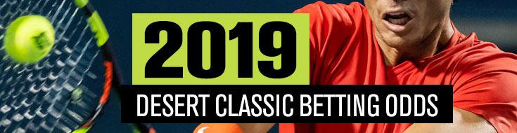 2019 Desert Classic Betting Odds & Sportsbook Prediction