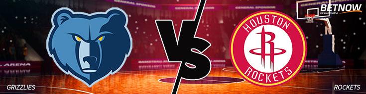 Memphis Grizzlies vs. Houston Rockets Betting Picks