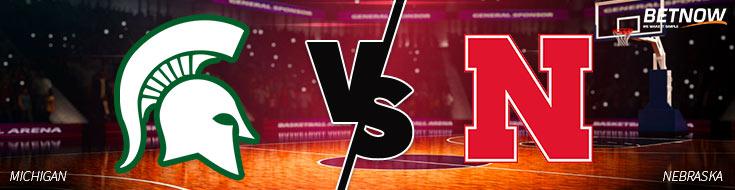 Michigan State vs. Nebraska Basketball