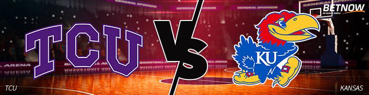 TCU vs. Kansas Basketball Betting picks