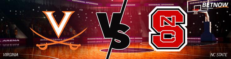 Virginia vs. NC State Basketball Betting odds