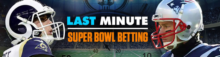 Last Minute Super Bowl Betting