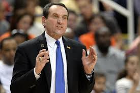 Mike Krzyzewski - Duke vs. Virginia Tech Basketball