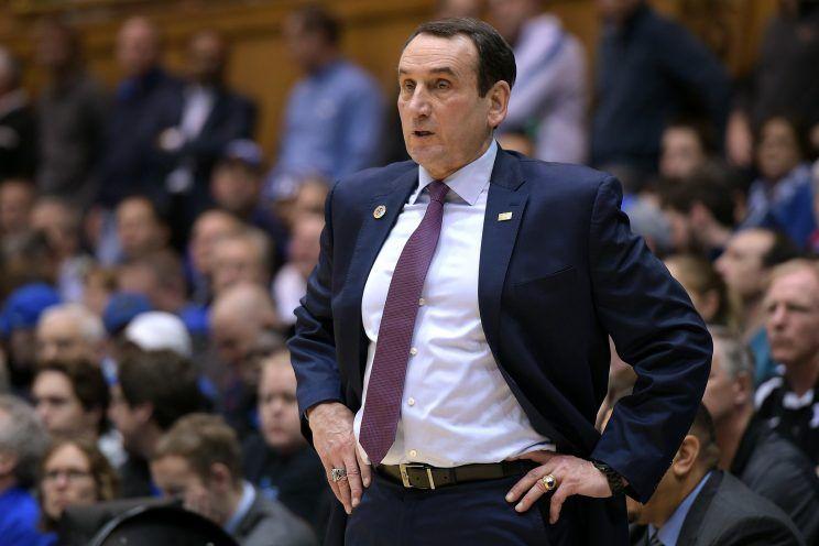 Mike Krzyzewski - North Carolina vs. Duke Basketball