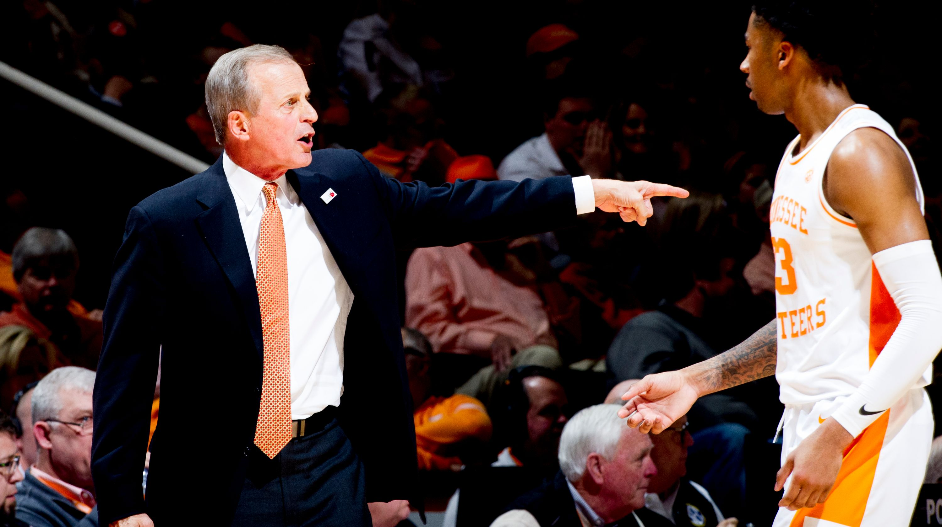 Rick Barnes - Tennessee vs. Ole Miss Basketball