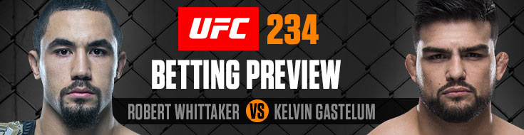 UFC 234 Betting Preview
