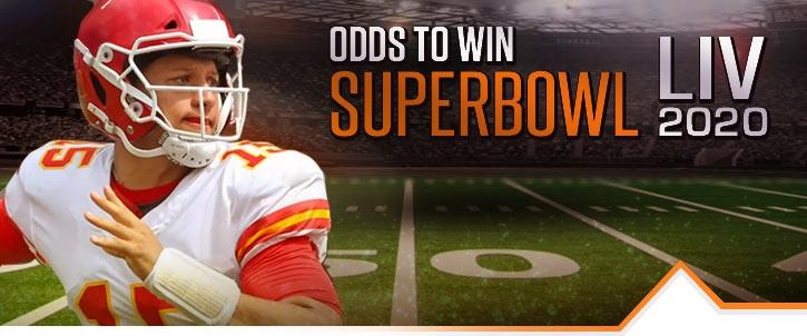 2020 Super Bowl Betting Odds (Super Bowl LIV) | BetNow