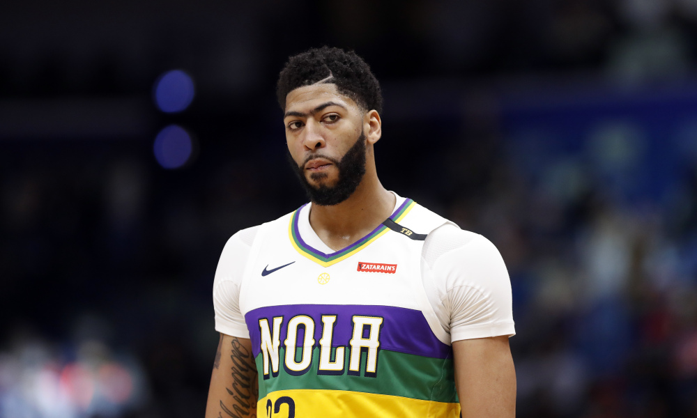 Anthony Davis -Milwaukee Bucks vs. New Orleans Pelicans