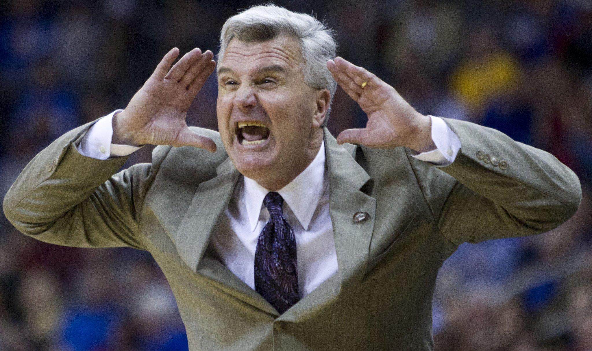 Bruce Weber - Kansas State vs. TCU Basketball