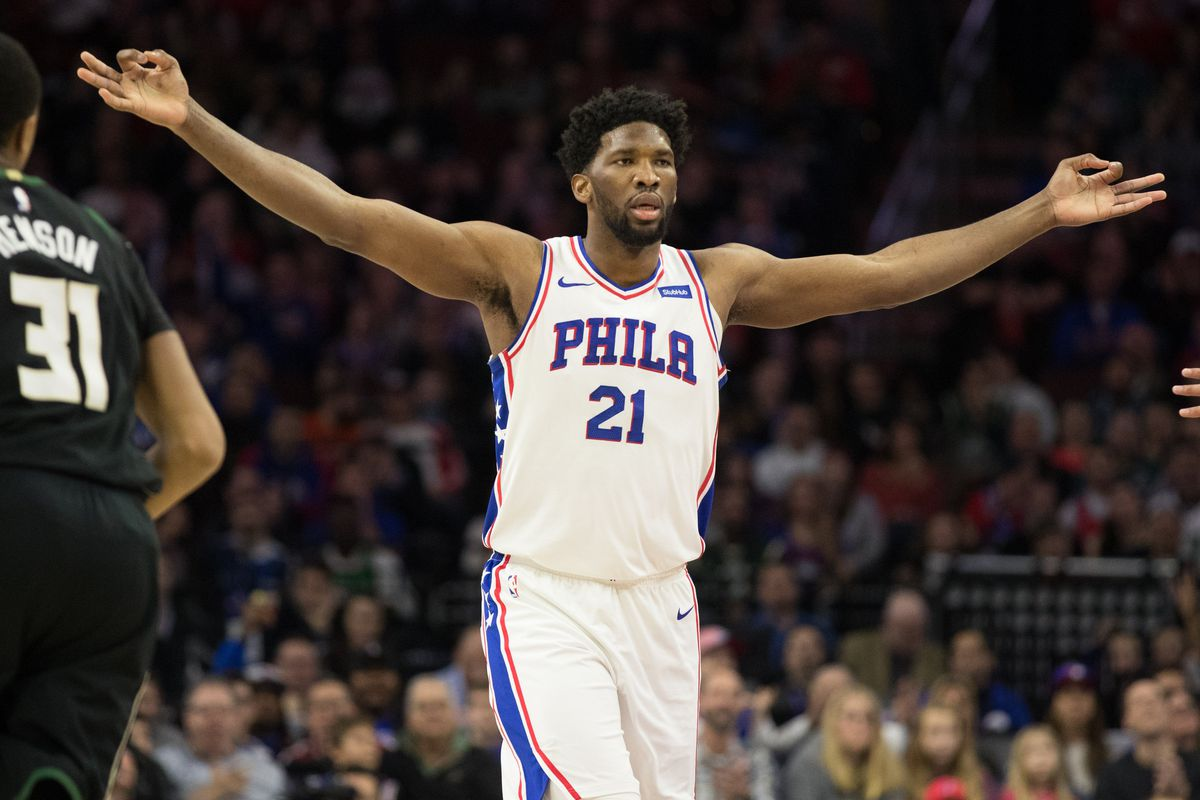 Joel Embiid - Philadelphia 76ers vs. Chicago Bulls