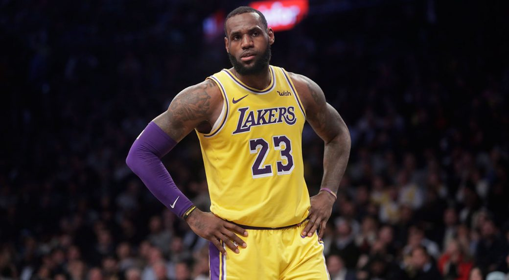 LeBron James - Los Angeles Clippers vs. Los Angeles Lakers