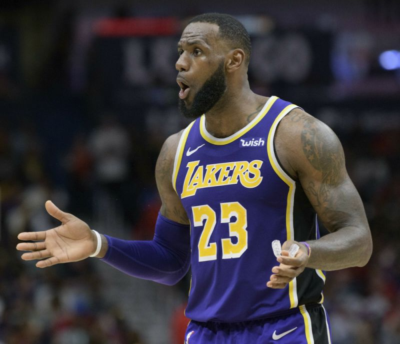 LeBron James - Milwaukee Bucks vs. Los Angeles Lakers