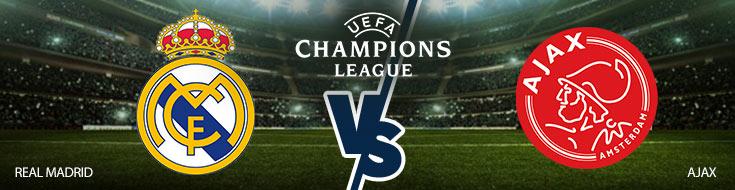 Real Madrid vs. Ajax Amsterdam Betting