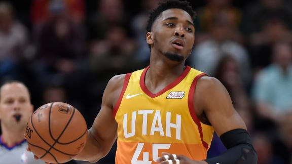 Donovan Mitchell - Houston Rockets vs. Utah Jazz