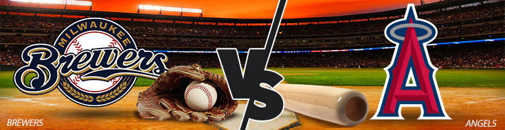 Milwaukee Brewers vs. Los Angeles Angels