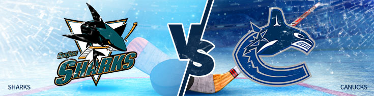 San Jose Sharks vs. Vancouver Canucks
