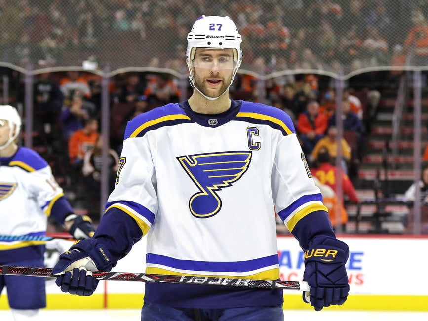Alex Pietrangelo - St. Louis Blues vs. San Jose Sharks