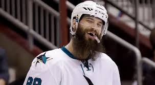 Brent Burns - St. Louis Blues vs. San Jose Sharks