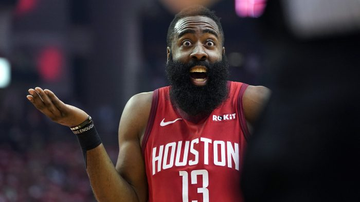 James Harden - Golden State Warriors vs. Houston Rockets