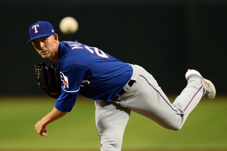 Mike Minor - Texas Rangers vs. Houston Astros