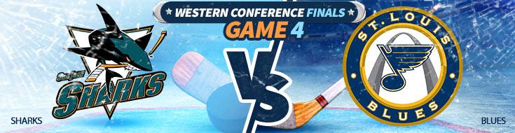 San Jose Sharks vs. St. Louis Blues Betting Picks