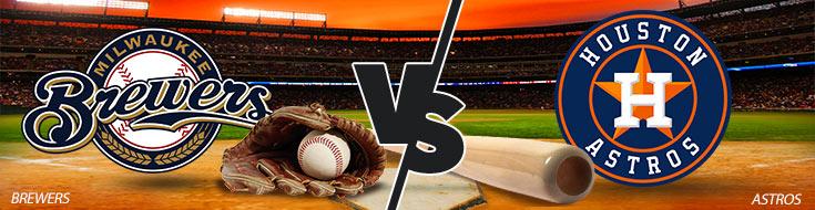 Milwaukee Brewers vs. Houston Astros