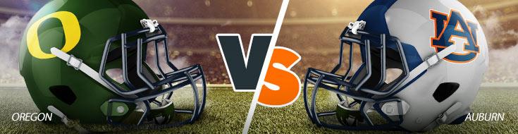Oregon Ducks vs. Auburn Tigers