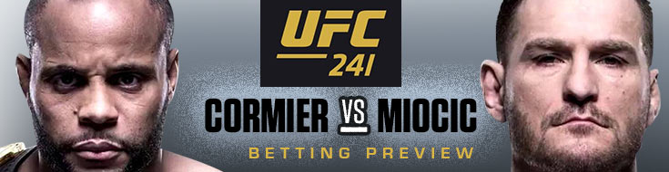 Early UFC 241 Betting Preview