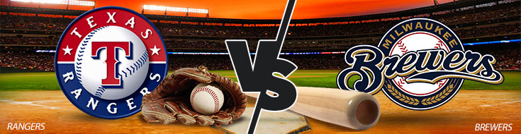 Texas Rangers vs. Milwaukee Brewers