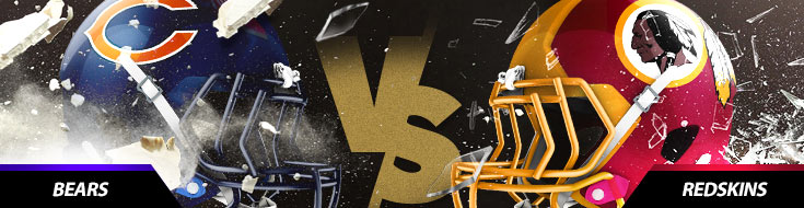 Chicago Bears Vs. Washington Redskins NFL betting odds and game picks