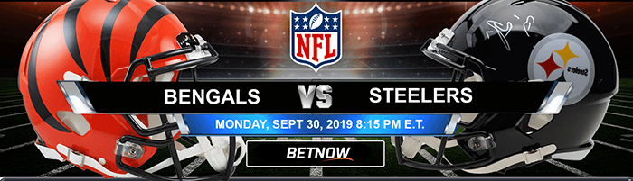 Cincinnati Bengals Vs Pittsburgh Steelers 9 30 2019 Odds And