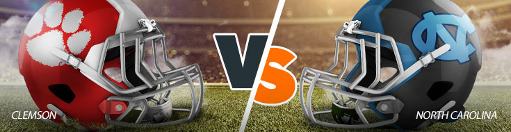 Clemson Tigers Vs. North Carolina Tar Heels NCAAF betting odds and game preview