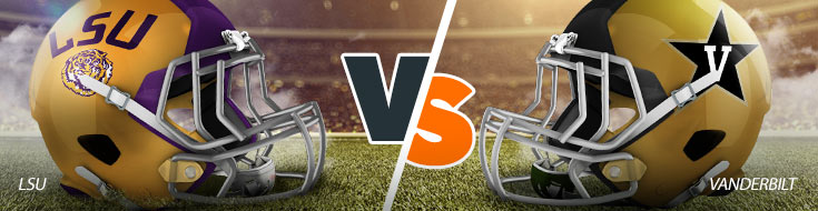 LSU Tigers Vs. Vanderbilt Commodores NCAAF betting odds, picks and preview