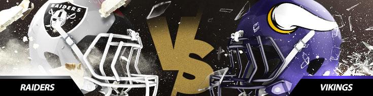 Oakland Raiders Vs. Minnesota Vikings NFL betting picks, odds and game preview
