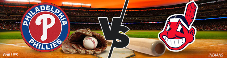 Philadelphia Phillies Vs. Cleveland Indians Baseball betting odds and game preview