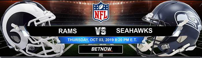 Los Angeles Rams vs Seattle Seahawks 10/03/2019
