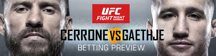 UFC Fight Night Cerrone vs. Gaethje Betting Preview, odds and fight picks