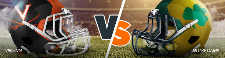 Virginia Cavaliers Vs. Notre Dame Fighting Irish NCAAF Betting odds and game preview