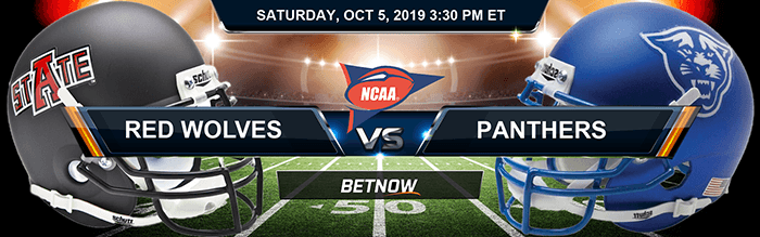 Arkansas State Red Wolves vs Georgia State Panthers 10-05-2019 Odds, Picks and Preview