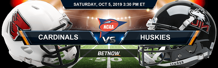 Ball State Cardinals vs Northern Illinois Huskies 10-05-2019 Picks and Game Analysis