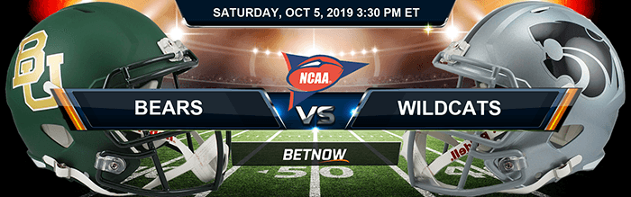 Baylor Bears vs Kansas State Wildcats 10-05-2019 NCAAF Betting Picks