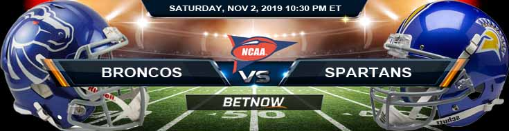 Boise State Broncos vs San Jose State Spartans 11-02-2019 Game Analysis Picks and Previews