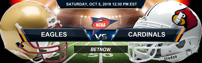 Boston College Eagles vs Louisville Cardinals 10-5-2019 NCAAF Betting Picks