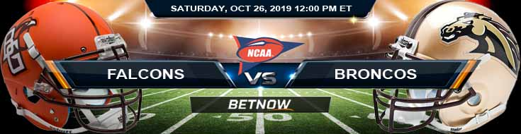 Bowling Green Falcons vs Western Michigan Broncos 10-26-2019 Game Analysis, Picks and Preview