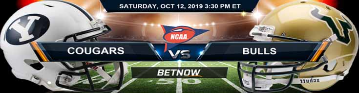 Brigham Young Cougars vs South Florida Bulls 10-12-2019 Odds, Picks and Analysis